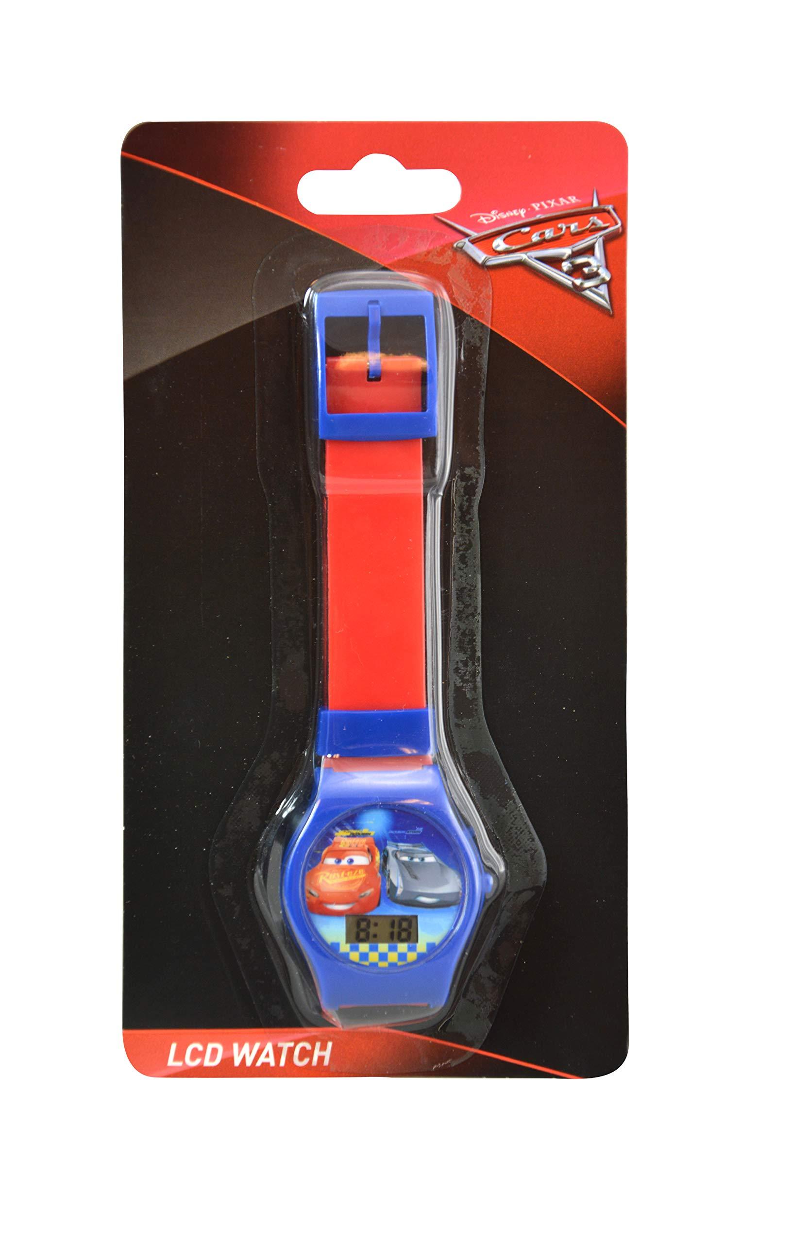 Karacter Box Disney Cars 3 LCD Digital Watch, 6-Pack Party Favors by Karacter Box (Image #2)