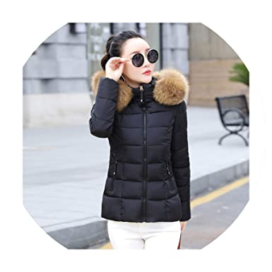 Color mood outerwear Women Jacket Hooded Slim Womens Basic ...