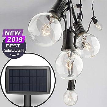 Sunlitec Hanging Solar String Lights