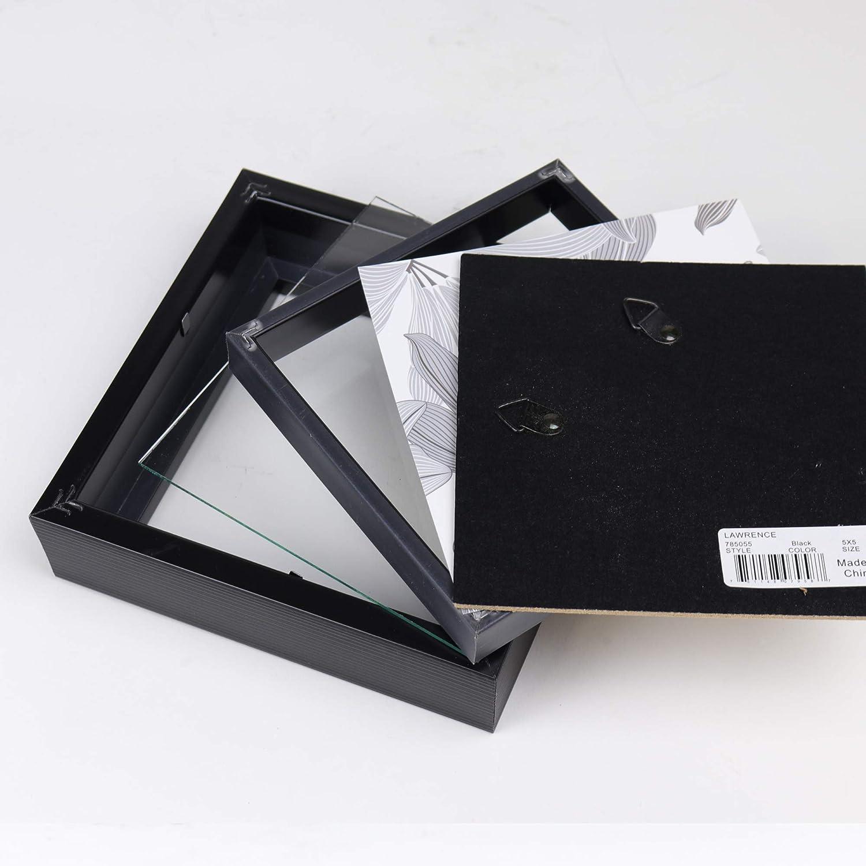Black Lawrence Frames Shadow Box Frame 5x5