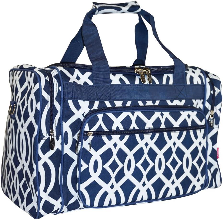 N. Gil Geometric Duffle Bag