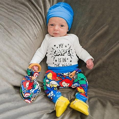 zhouba recién nacido bebé Pelele de moda carta impresión + ...