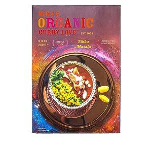 Tikka Masala Curry Sauce ORGANIC   case of 6 x 8.8 oz pouches