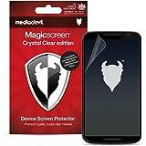 MediaDevil Google Nexus 6 Pellicola Protettiva: Crystal Clear (Invisibile) - (2 x Pellicole Frontali) Magicscreen