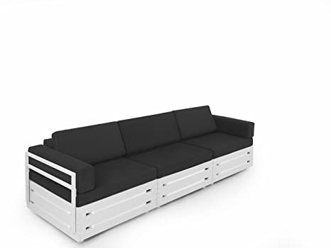 Miraculous Amazon Com Slim Furniture Full Size Furniture 3 Piece Couch Alphanode Cool Chair Designs And Ideas Alphanodeonline
