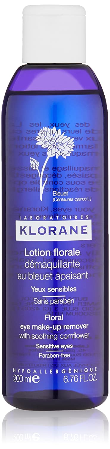 Klorane Eye Makeup Remover Lotion 200ml Pierre Fabre 1491