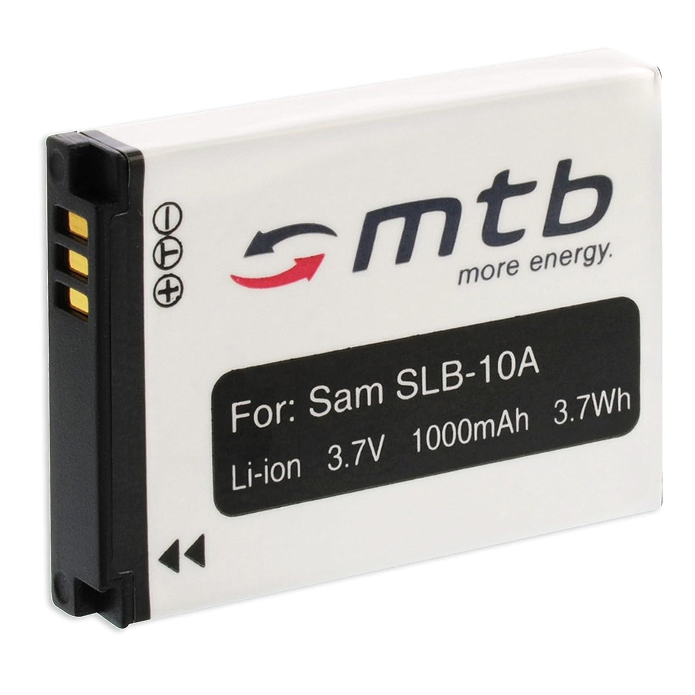 Batteria SLB-10A per Samsung ES50 ES55 ES60 ES63 HMX-U10 WB550 WB700...vedi lista! mtb more energy BAT-092