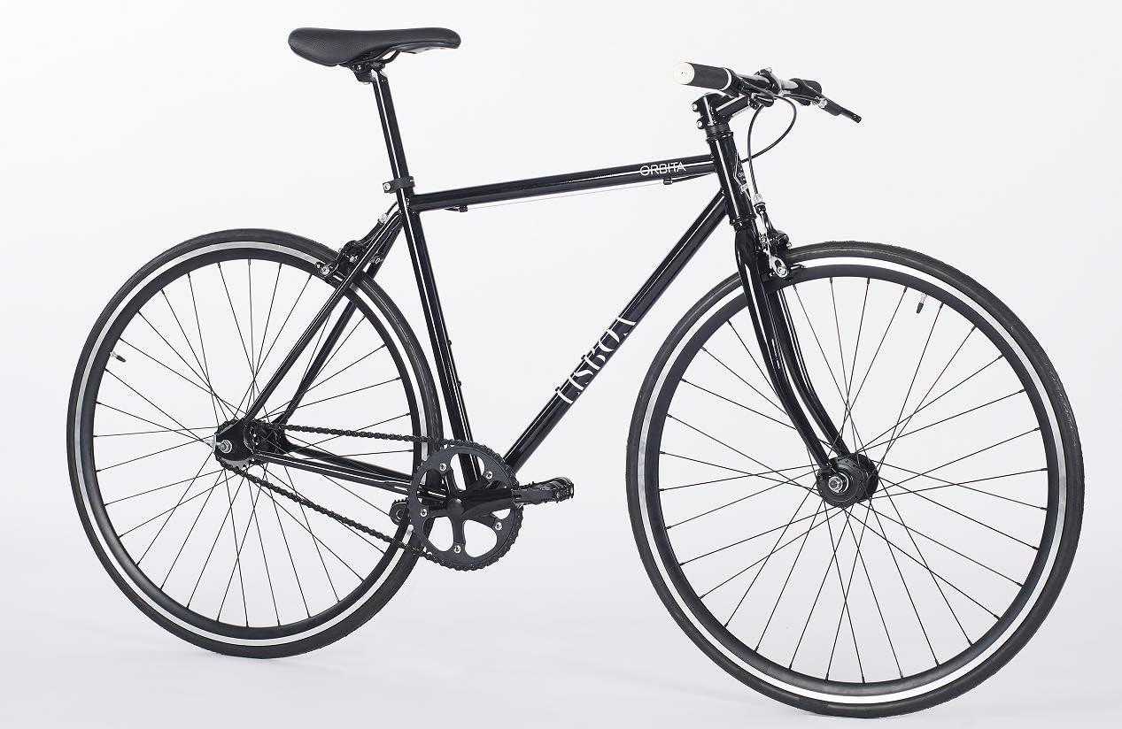 Bicicleta Fixie Orbita Lisboa negro 2018: Amazon.es: Deportes y ...