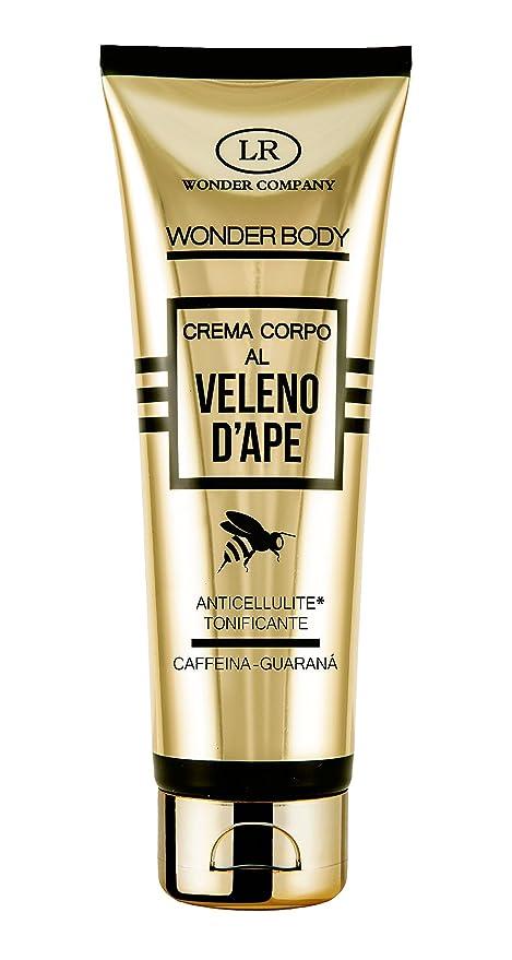 wonder company  Wonder Body, crema corpo anticellulite al veleno d'ape, caffeina e ...