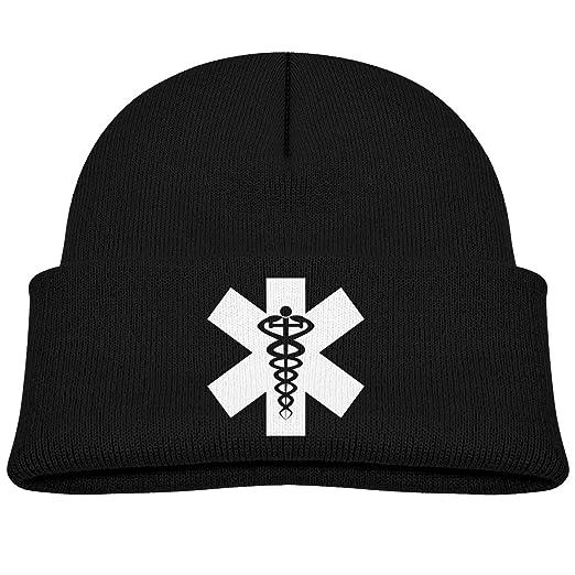 4151f719f9f NEWOW Serpantine Medical Symbol Skull Cap Beanie Knitted Cap for Toddler  Boys Girls