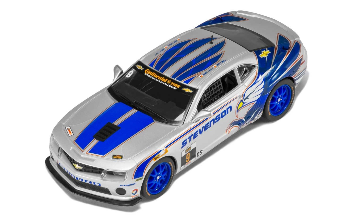 Scalextric C3596 Chevrolet Camaro GT-R Stevenson Motorsports Slot Car (1:32 Scale)