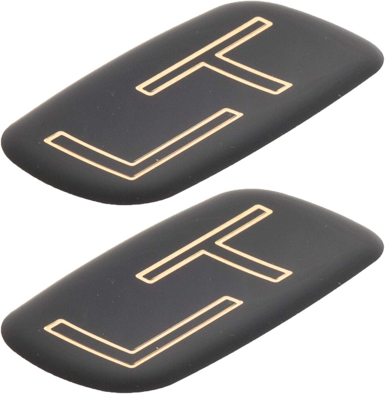 Gold Black Pair Set LT Rear Emblem Badge logo 99-07 Silverado Suburban Tahoe Bowtie
