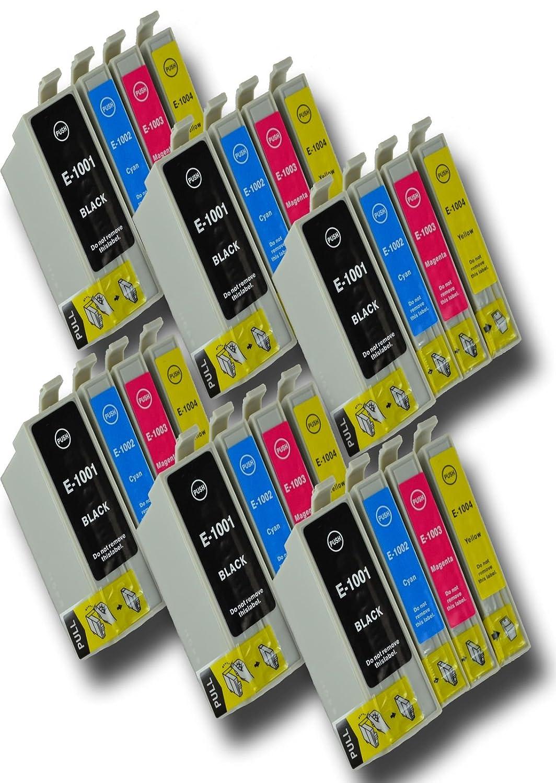 The Ink Squid 6 Sets von T1001 T1002 T1003 T1004 (T1006 'Rhino') sehr hohe Kapazität - Tintenpatrone kompatibel mit Epson Stylus Sx600Fw