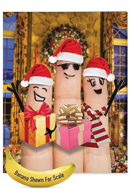 Amazon.com : Big 'Christmas Fingers Carolers' Merry Christmas ...