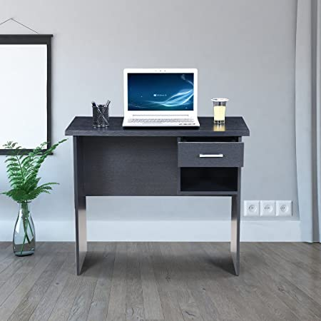 Royaloak Neptune Computer Table (Black)