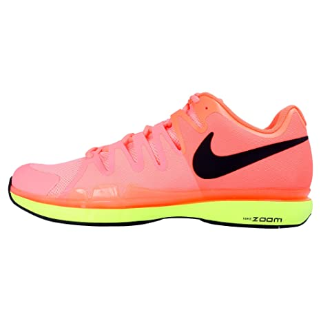 09d34b9ed34 Nike Zoom Vapor 9.5 Tour Lava Glow Black Hyper Orange Volt Men s Tennis  Shoes  Amazon.ca  Sports   Outdoors