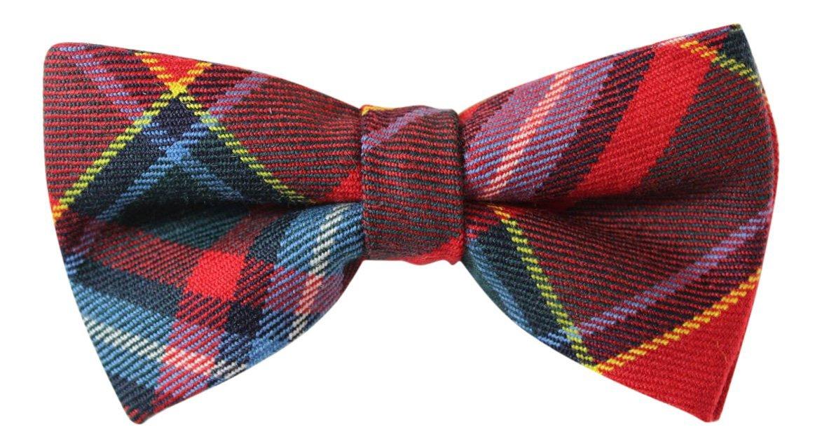 Luxury Drummond Tartan /'Sophisticate/' Classic Adjustable Pre-tied Bow Tie