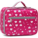 BLUEFAIRY Girls Insulated Lunch Bags for Little Kids Lunchbag for School Outdoor Camping Food Cooler Lunchbox Box Carrier