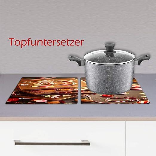 Cocina de 2 Piezas para vitrocerámica, 2 Placas de cocción ...