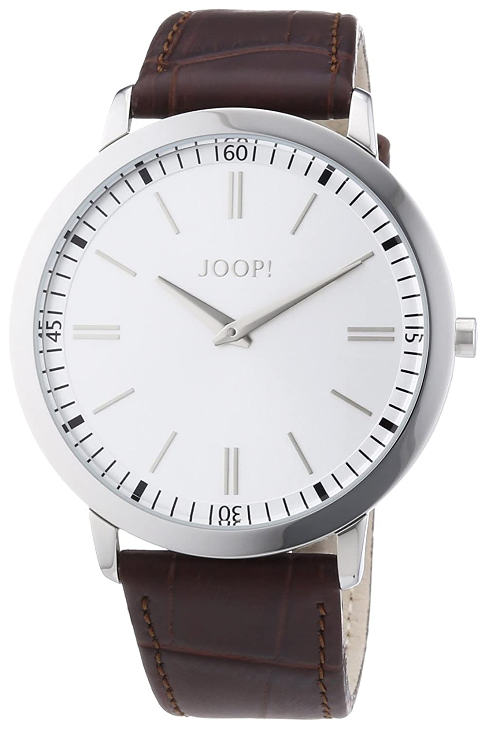 Joop Herren-Armbanduhr XL Tendencies Analog Quarz Leder JP100691F02