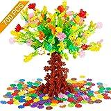 Tebrcon 約700ピース おもちゃ ブロック 子供 積み木 知育玩具 セット 男の子 女の子 はめ込み 立体 パズル