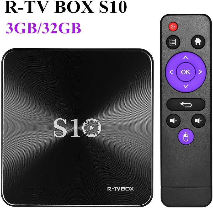 TV Box Android 7.1 Amlogic S912 DDR4 3G RAM DDR4 32G emmc 2.0 Octa Core Doble Banda WiFi 2.4G/5G 1000M LAN 4K 3D: Amazon.es: Electrónica