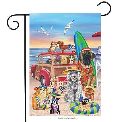 Tropical Parrot Summer Garden Flag Nautical Camping Tropical 12.5 x 18 Garden & Patio