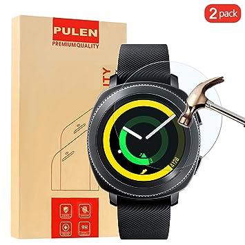 PULEN [2-Unidades]Compatibles con Samsung Gear Sport Protector de ...