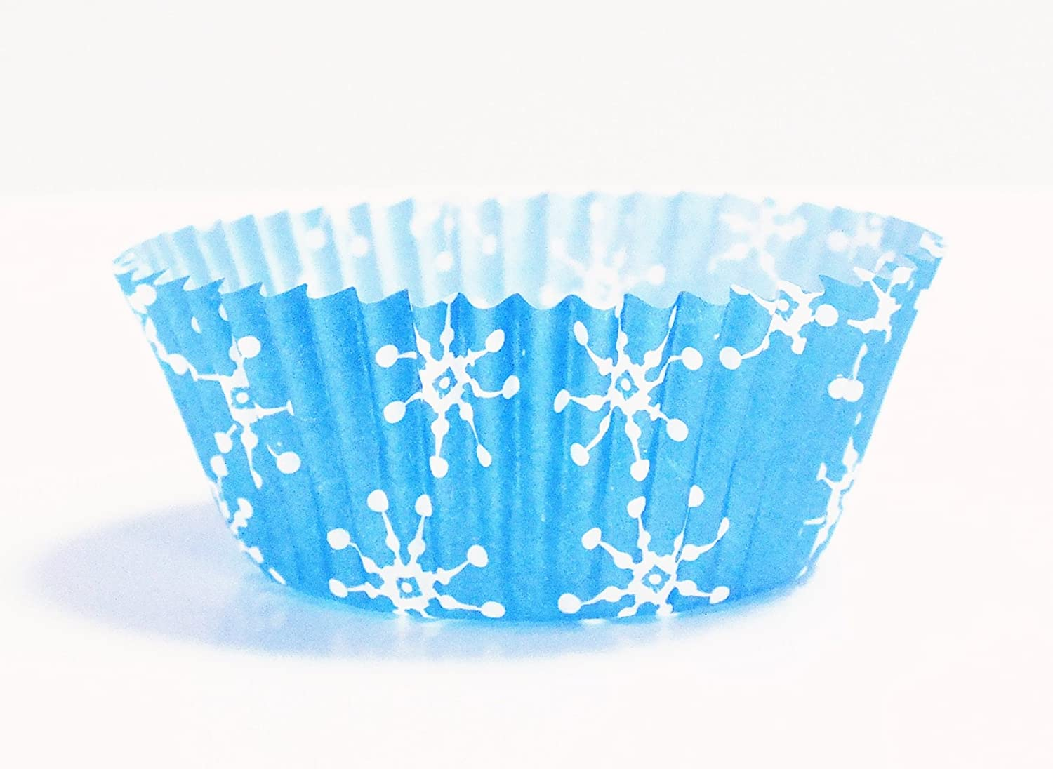 Knights Bridge Global BC752 PME Snowflakes Cupcake Baking Cups Standard Knightsbridge Global Ltd. 60 Pack