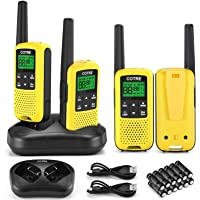 $79 » Walkie Talkies - COTRE Two Way Radios, Up to 32 Miles Long Range USB Rechargeable…