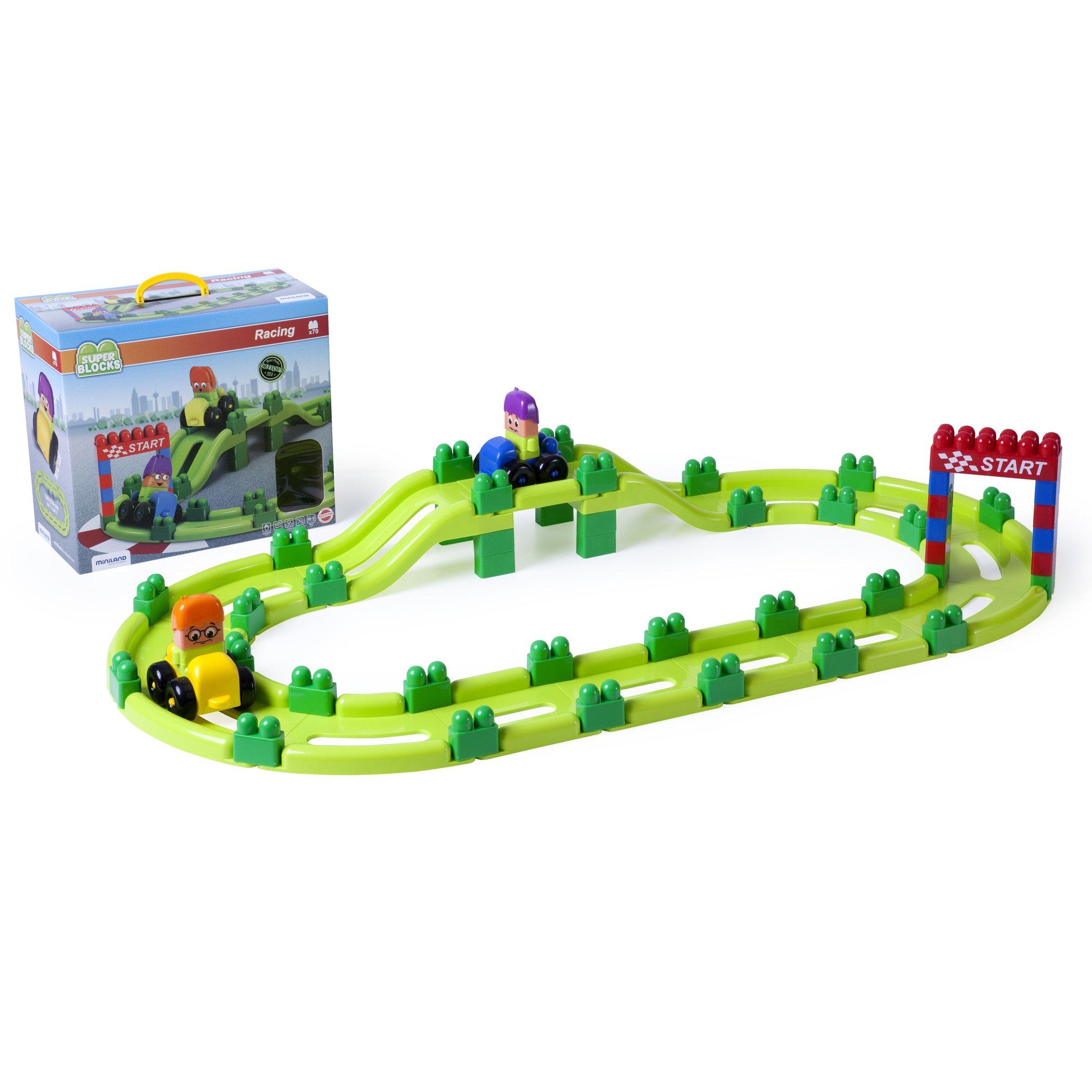 Miniland Super Blocks Set - Racing