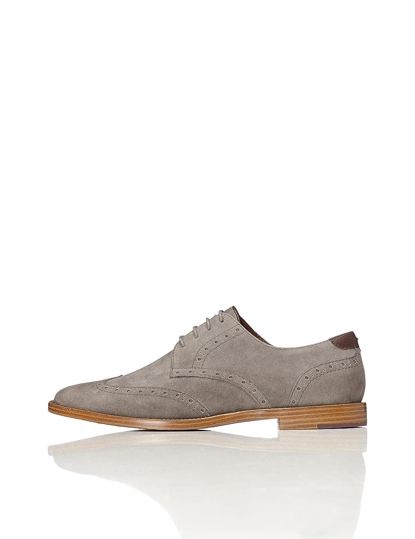 Marca Amazon - find. Suede-look Alvin - Zapatos de Vestir Hombre