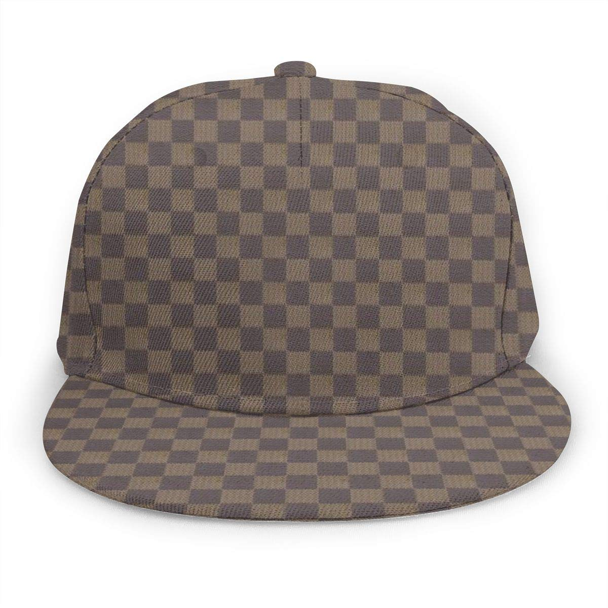 ELVg Unisex Classic Trucker Hat Adjustable Hip Hop Flat Bill Hat Dad Baseball Caps Black