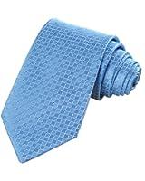 KissTies Mens Solid Tie Set Wedding Party Necktie + Hanky + Gift Box