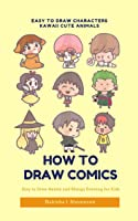 Easy To Draw Characters Kawaii Cute Animals: Easy