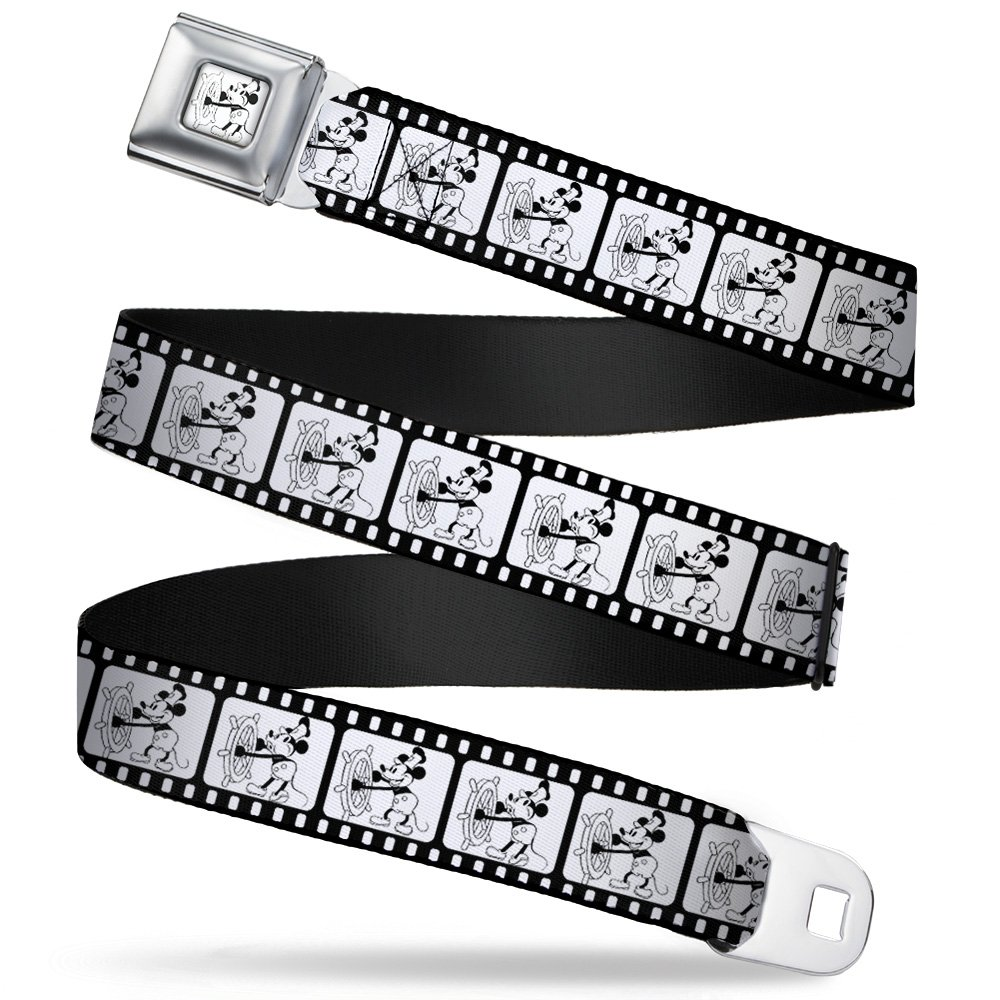 Buckle Down Boys Seatbelt Belt Mickey Mouse Steamboat Willie Wdy160