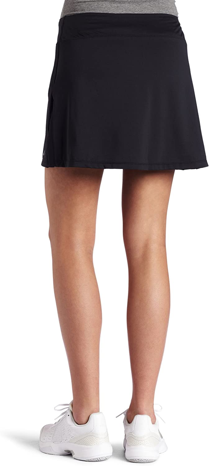 Skirt Sports Gym Girl Ultra Skirt with Semi-Compression Mesh Athletic Shorts and Hidden Pockets