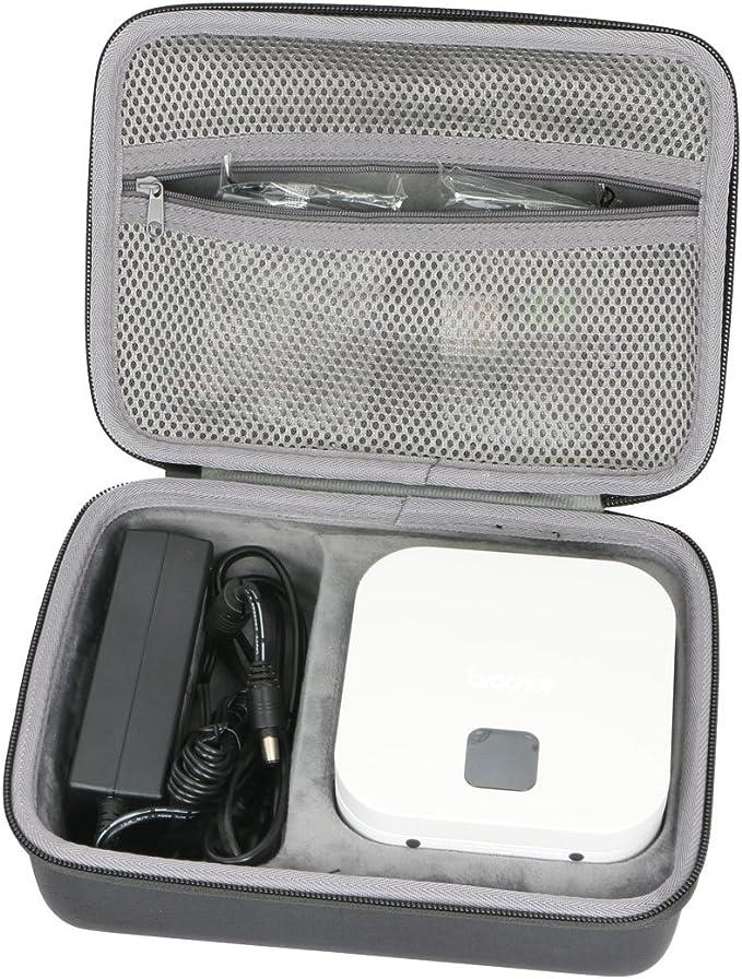 co2crea Hard Travel Case for Brother VC-500W Versatile Compact Color Label Photo Printer