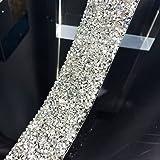 Yalulu Clear Silver Crystal Rhinestone Wedding