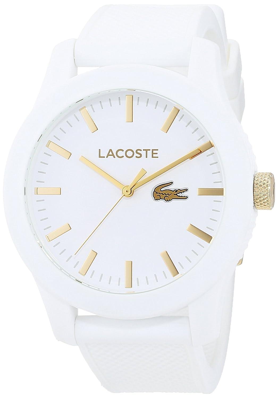 Lacoste 2010819 - Reloj analógico de pulsera para hombre, correa de silicona