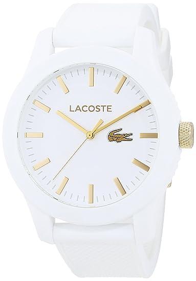 Lacoste 2010819 - Reloj analógico de pulsera para hombre, correa de silicona: Amazon.es: Relojes
