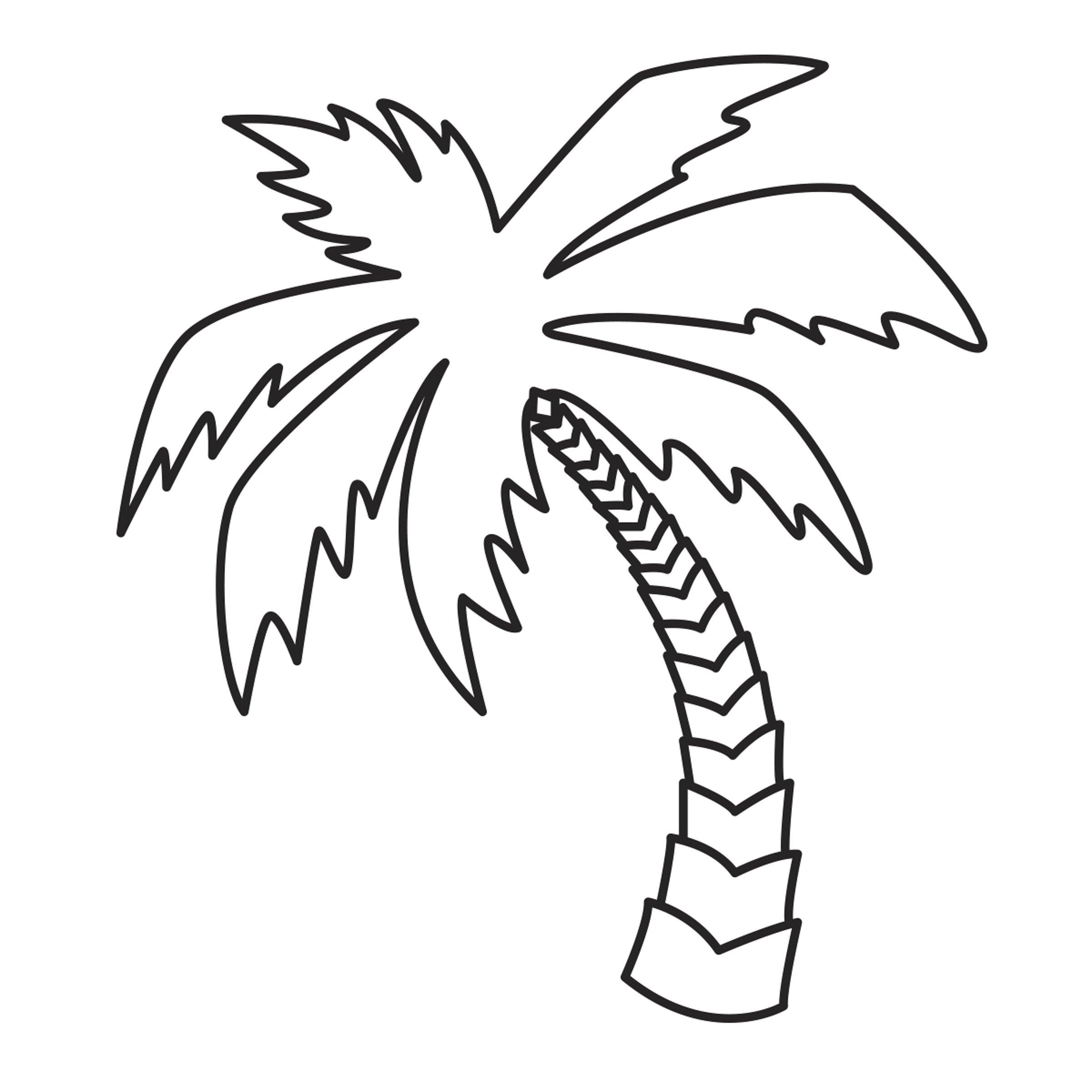 Darice 30023086 Die Cut Emboss Stencil Palm Tree by Darice