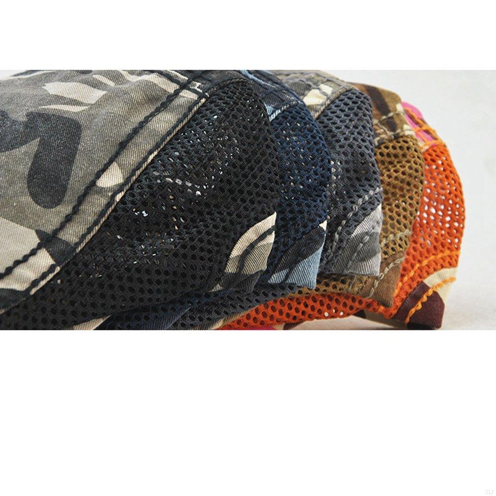 SLBGADIEME Woman Cap Camouflage Ivy Mesh Cap Beret Cap Breathable SLP-QAC857