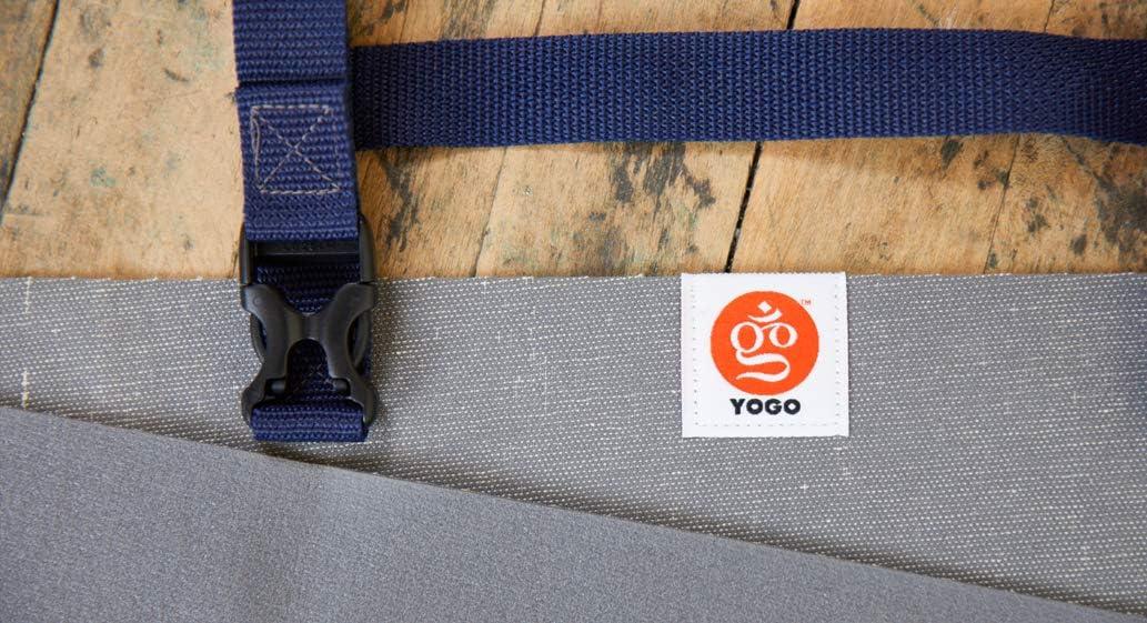 /Colchoneta plegable con integrado correas y asa para transportar y lavar Ultraligero Viajes estera de Yoga por yogo/