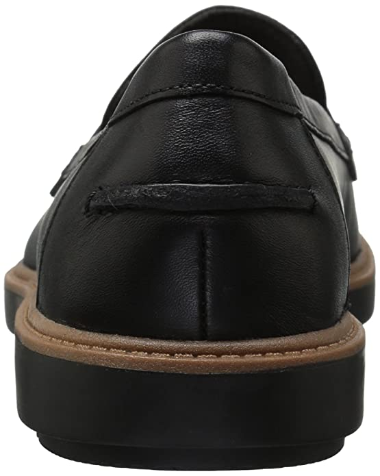 ceb6119598cbc Amazon.com | CLARKS Women's Raisie Eletta Penny Loafer | Loafers & Slip-Ons