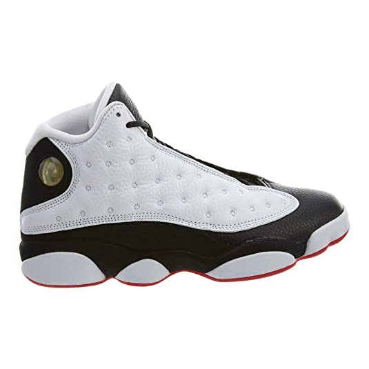 Amazon.com | NIKE Air Jordan 13 Retro He Got Game Mens Shoes White/True red/Black 414571-104 (12 D(M) US) | Basketball