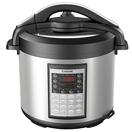 COSORI CP018 PC 8Qt 8 In 1 Electric Pressure Cooker With Instant Stainless