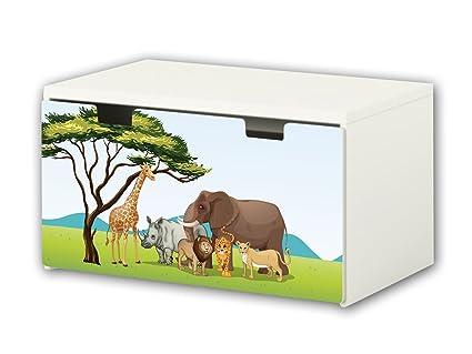 Africa pegatinas | pegatinas para muebles | BT24 | adecuado para el arcón de banco STUVA