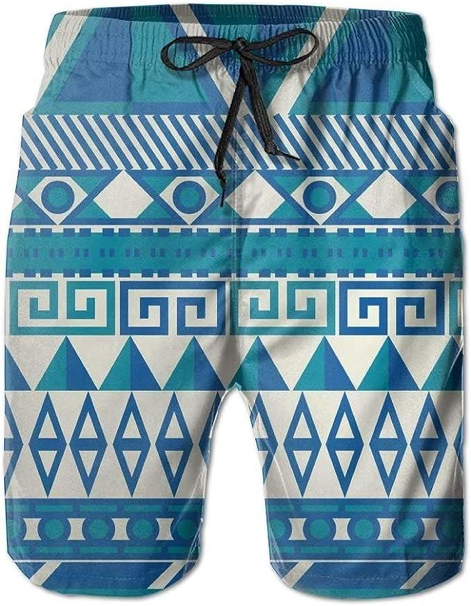 Mens Puerto Rico Flag Heart Pattern Boardshorts Beach Pants