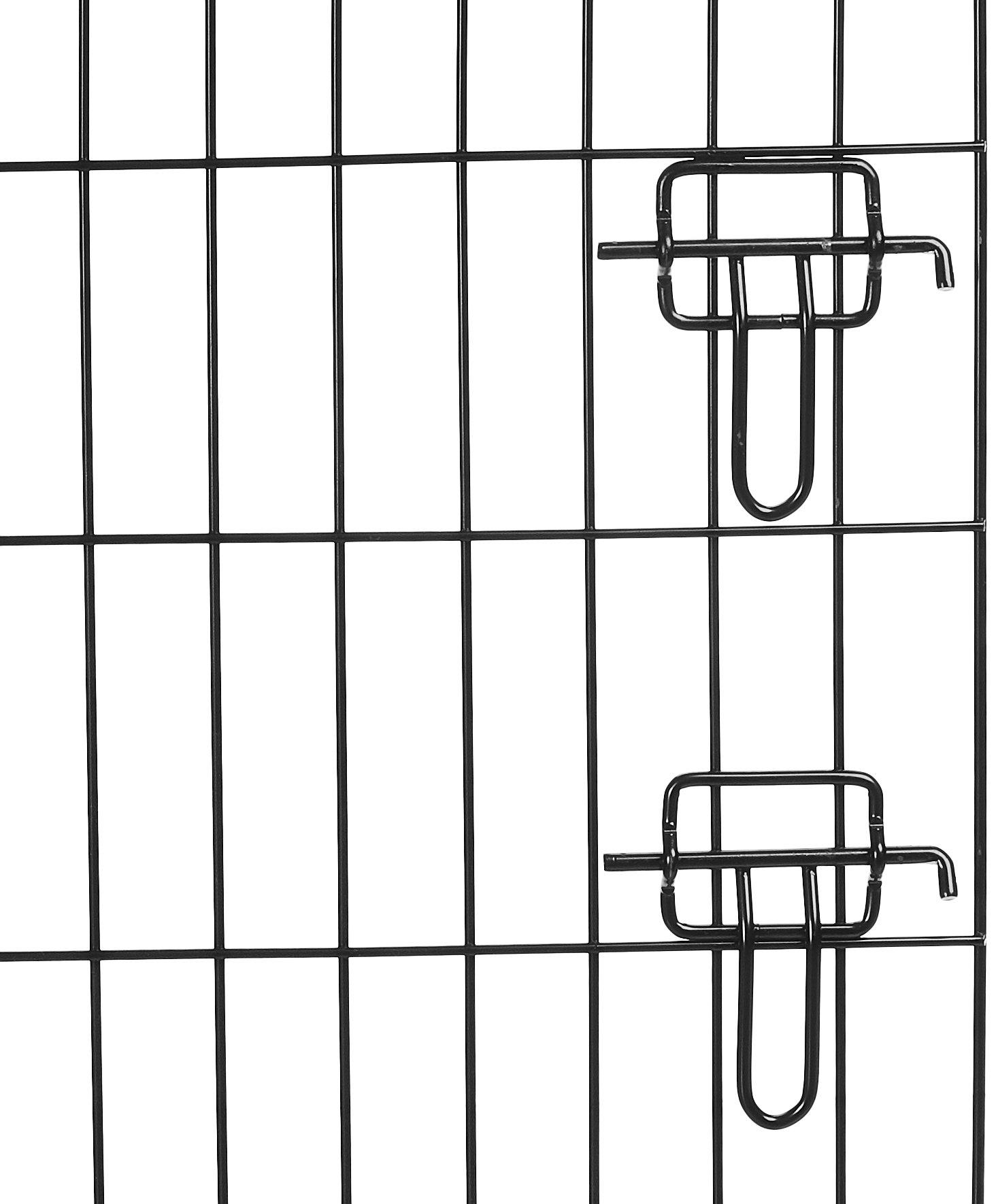 AmazonBasics Double-Door Folding Metal Dog Crate - 30 Inches by AmazonBasics (Image #7)